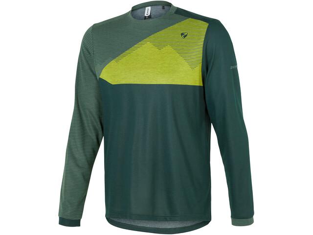 Ziener Egme Longsleeve Shirt Herren spruce green